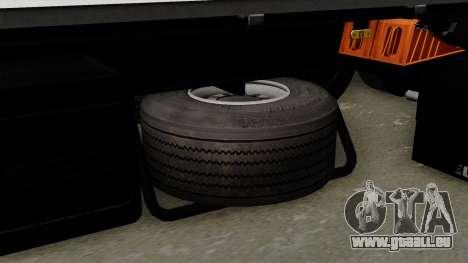 Trailer Kogel für GTA San Andreas rechten Ansicht