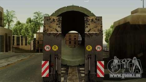 Trailer Cargos ETS2 New v3 für GTA San Andreas Rückansicht