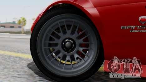 GTA 5 Banshee Dirt pour GTA San Andreas sur la vue arrière gauche