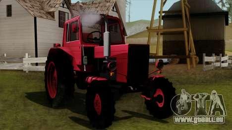Traktor MTZ80 für GTA San Andreas