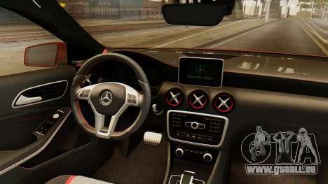 Mercedes-Benz A45 AMG 2012 pour GTA San Andreas vue intérieure