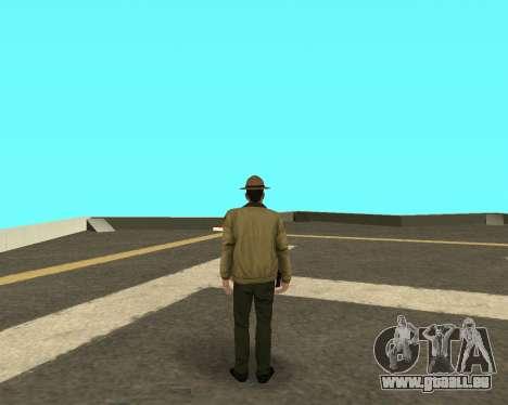 Nouvelle peau pour les flics LVPD pour GTA San Andreas deuxième écran