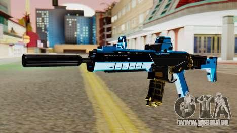 Fulmicotone M4 für GTA San Andreas