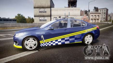 Holden VF Commodore SS Highway Patrol [ELS] v2.0 für GTA 4 linke Ansicht