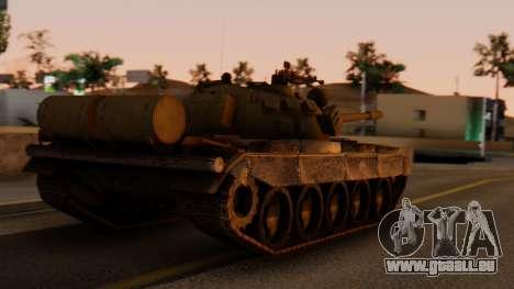 T-55AM Merida pour GTA San Andreas laissé vue