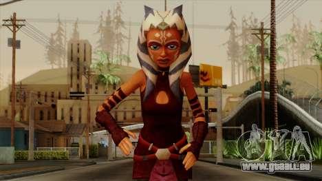 Ahsoka Tano Star Wars pour GTA San Andreas