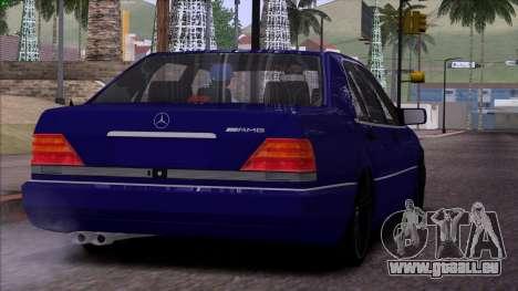 Mercedes-Benz S600 W140 pour GTA San Andreas roue