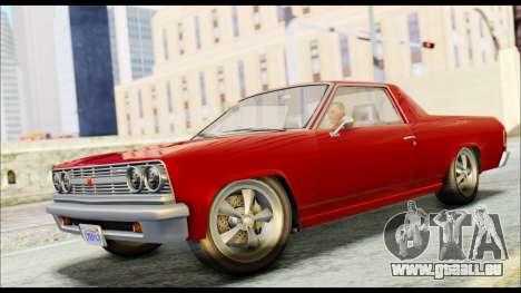 GTA 5 Cheval Picador für GTA San Andreas