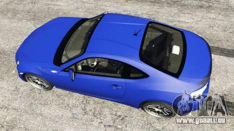 GTA 5 Toyota GT-86 [Beta] Rückansicht
