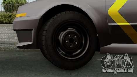 Indonesian Police Type 1 für GTA San Andreas zurück linke Ansicht