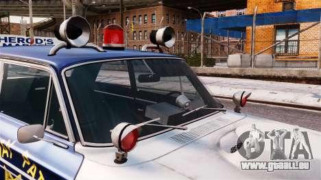 Ford Fairlane 1964 Police für GTA 4 rechte Ansicht