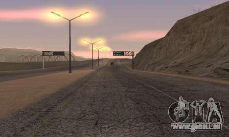 Les lumières de San Fierro, Las Venturas pour GTA San Andreas cinquième écran