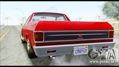 GTA 5 Cheval Picador pour GTA San Andreas laissé vue
