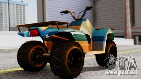 New Quad für GTA San Andreas linke Ansicht