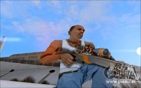 AWP Carbone Edition pour GTA San Andreas quatrième écran