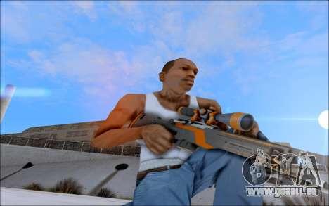 AWP Carbone Edition für GTA San Andreas her Screenshot