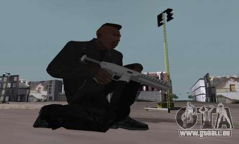 Combat PDW from GTA 5 für GTA San Andreas dritten Screenshot