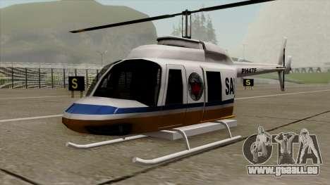 Rain Dance Maverick pour GTA San Andreas