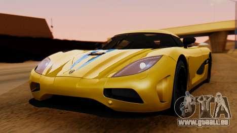 Koenigsegg Agera 2011 pour GTA San Andreas