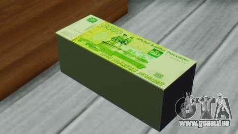 3000 Roubles pour GTA San Andreas troisième écran