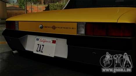 Porsche 914 1970 pour GTA San Andreas vue arrière