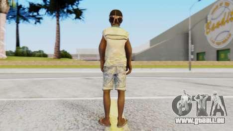 African Child pour GTA San Andreas troisième écran