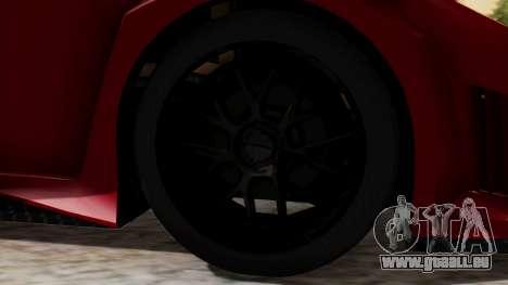 Lamborghini Gallardo J Style für GTA San Andreas zurück linke Ansicht