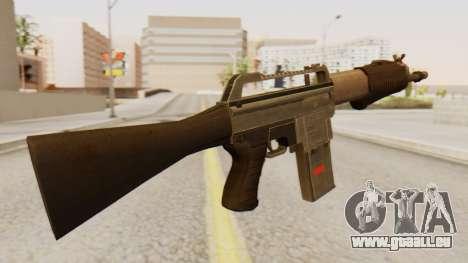 SPAS 15 pour GTA San Andreas deuxième écran