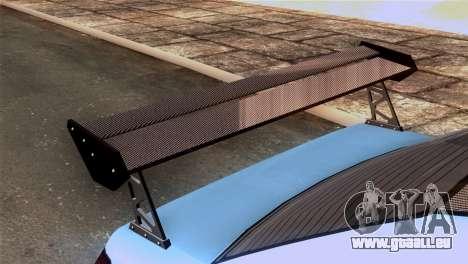 GTA 5 Declasse Asea IVF für GTA San Andreas Rückansicht