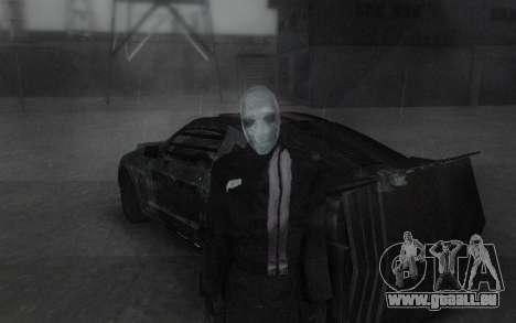 Frankenstein Skin für GTA San Andreas dritten Screenshot