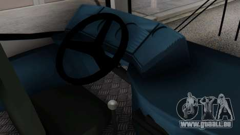 Mercedes-Benz Neobus Paraguay National Police pour GTA San Andreas vue de droite