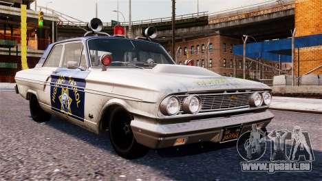 Ford Fairlane 1964 Police pour GTA 4