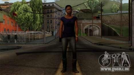 Rochelle New Textures pour GTA San Andreas deuxième écran