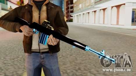 Fulmicotone Rifle pour GTA San Andreas troisième écran