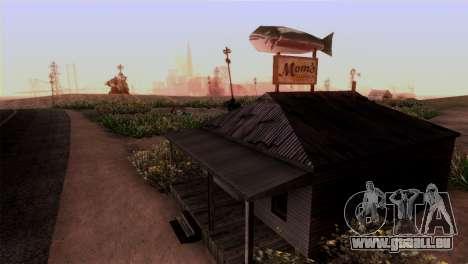 Le Sherman Barrage pour GTA San Andreas troisième écran