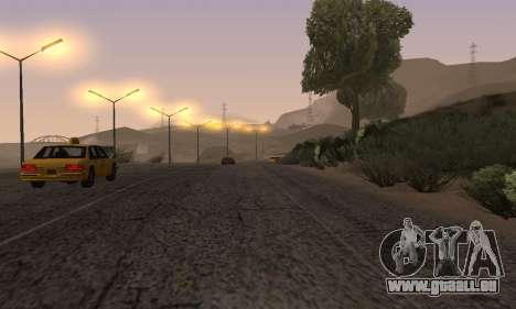 Les lumières de San Fierro, Las Venturas pour GTA San Andreas neuvième écran