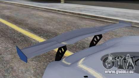 Progen T20 GTR für GTA San Andreas Rückansicht