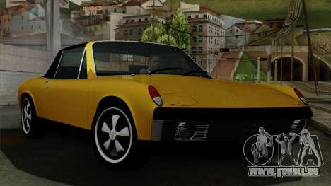 Porsche 914 1970 für GTA San Andreas