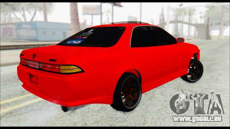 Toyota Mark 2 90 Stock2 für GTA San Andreas linke Ansicht