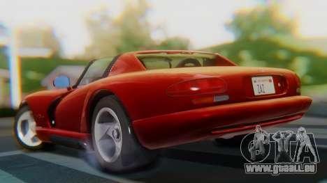 Dodge Viper RT-10 1992 für GTA San Andreas linke Ansicht