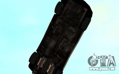 GTA 3 Infernus SA Style v2 pour GTA San Andreas vue de dessus