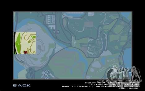 Cascade v0.1 Beta pour GTA San Andreas sixième écran