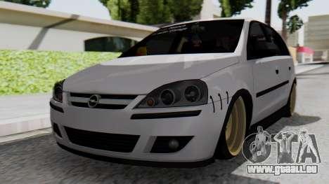 Opel Corsa Air pour GTA San Andreas