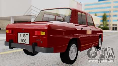 Dacia 1100 Sport pour GTA San Andreas laissé vue