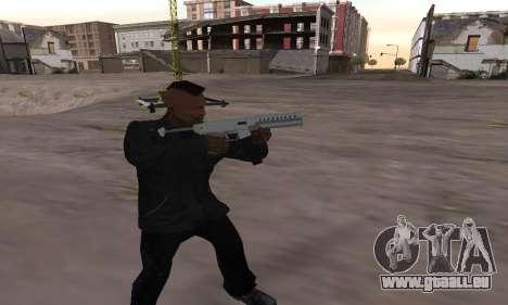 Combat PDW from GTA 5 für GTA San Andreas zweiten Screenshot
