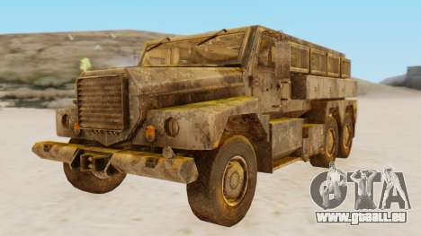 MRAP Cougar from CoD Black Ops 2 pour GTA San Andreas