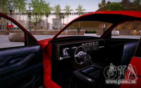 Nissan 350Z SA Style pour GTA San Andreas vue de droite
