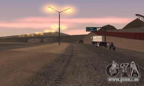 Les lumières de San Fierro, Las Venturas pour GTA San Andreas quatrième écran