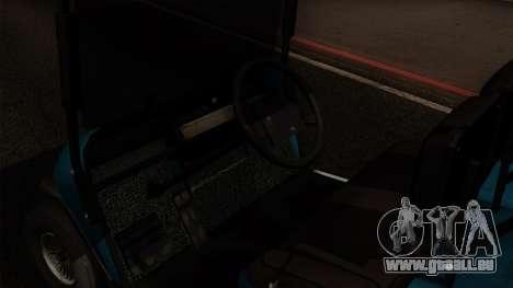 E-Z-GO Golf Cart v1.1 pour GTA San Andreas vue de droite