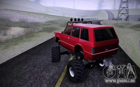 Huntley Monster v3.0 pour GTA San Andreas laissé vue